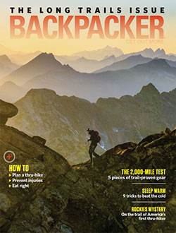 FREE Subscription to Backpacke...